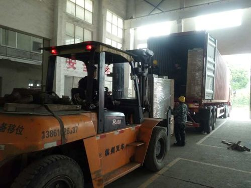 The smooth delivery of wire drawing machine exported to India