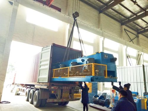 25 m/s high speed wire drawing machine shipped to Indonesia