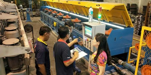 ndonesia wire drawing machine installation and commissioning success!