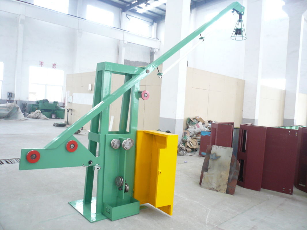 Ø3mm - Ø-1.5mm Bright Steel Wire Drawing Machine , Acid - Free Green Wire Pulling Machine