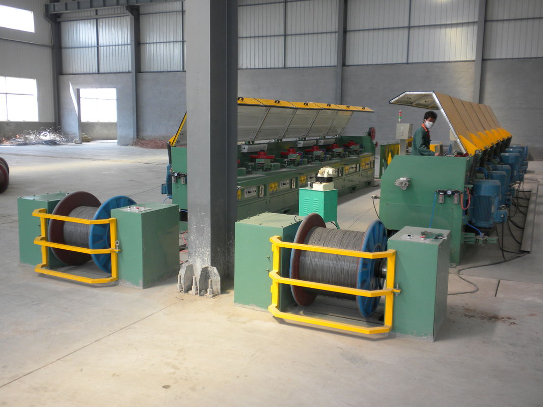 High / Low Carbon Automatic Wire Payoff Machinery For Raw Materials ...