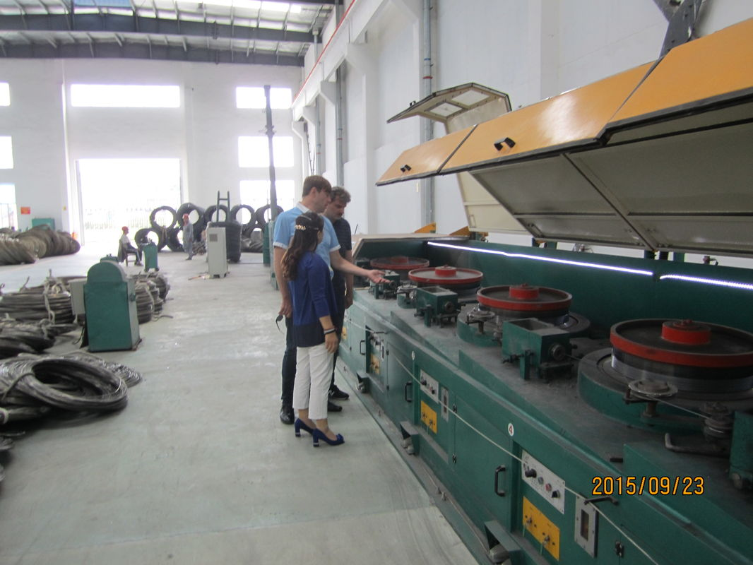0.5mm -1.2mm Steel Wire Drawing Equipment , High Speed Fine Wire ...
