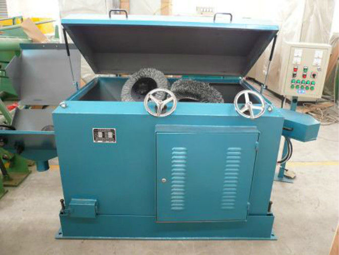 High Carbon Steel Wire Brush Machine , Wire Rod Pre - Processing ...