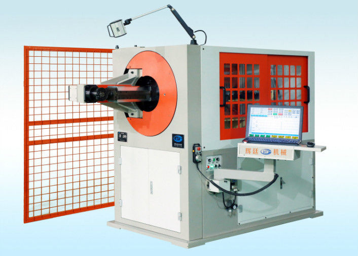 Customized Shape Wire Forming Equipment , Compression Spring Coiling Machine