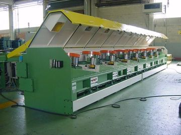China 22kw - 110kw High Speed Wire Drawing Machine With Ironed Cast Frame factory