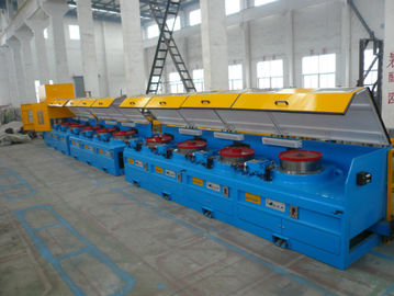 China 8mm - 16mm Mechanical Wire Descaler Machine , High Speed Wire Processing Machine factory