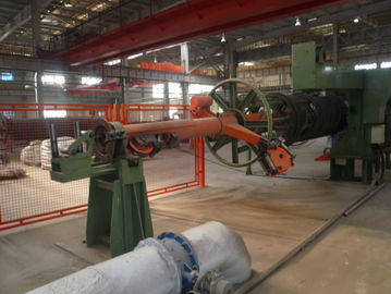 Automatic Wire / Cable Rewinding Machine , Wire Respooler Machine Time And Labor Saving