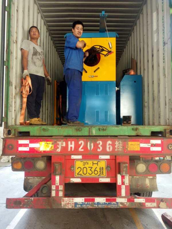 The smooth delivery of the machines in Bolivia
